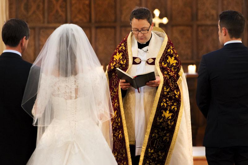 Ceremony by Brighton documentary wedding photographer James Robertshaw