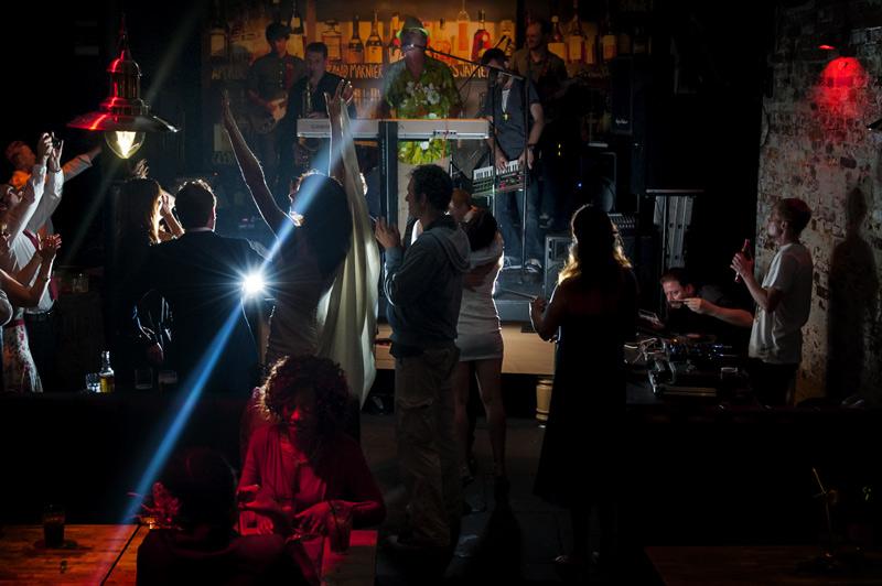 Dancing in Black Market by Hastings wedding photographer James Robertshaw