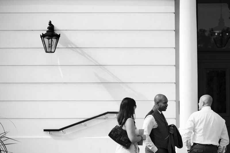 Guests arriving for Wedding at The Grand Hotel Eastbourne by Sussex wedding photographer James Robertshaw