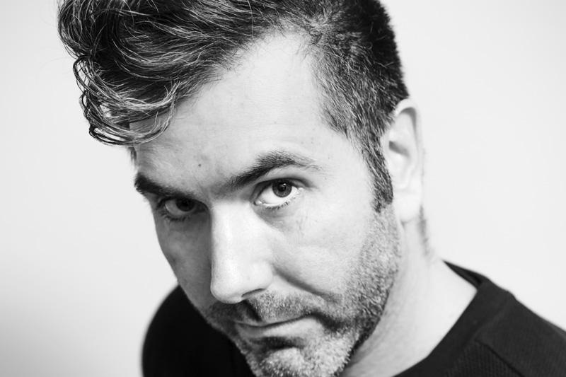 Carl Robertshaw headshot by sussex portrait photographer James Robertshaw