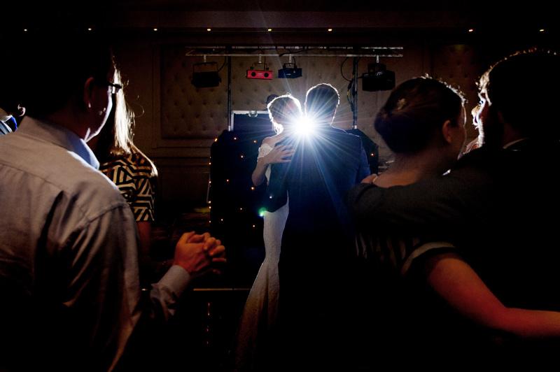 Dancefloor at Bannatynes Hotel Hastings wedding