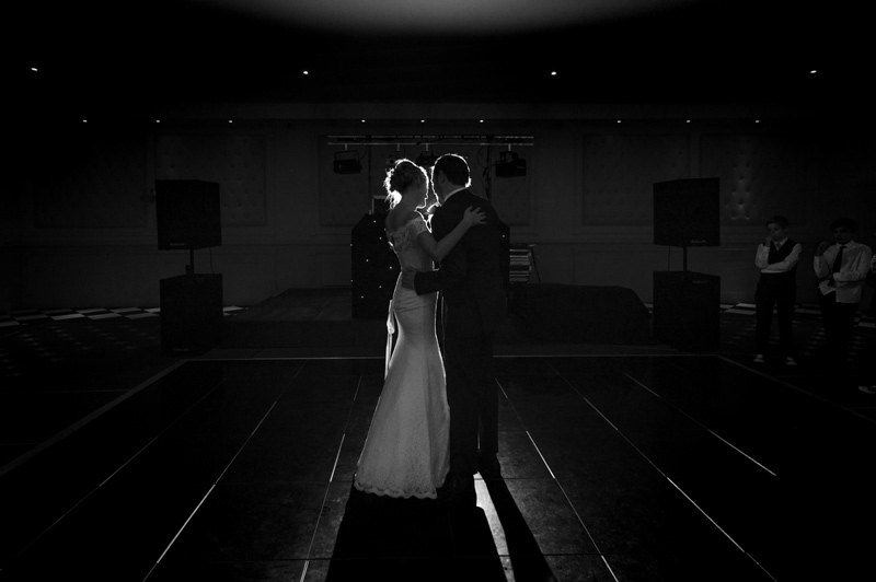 Couple first dance at Bannatynes Hotel Hastings wedding