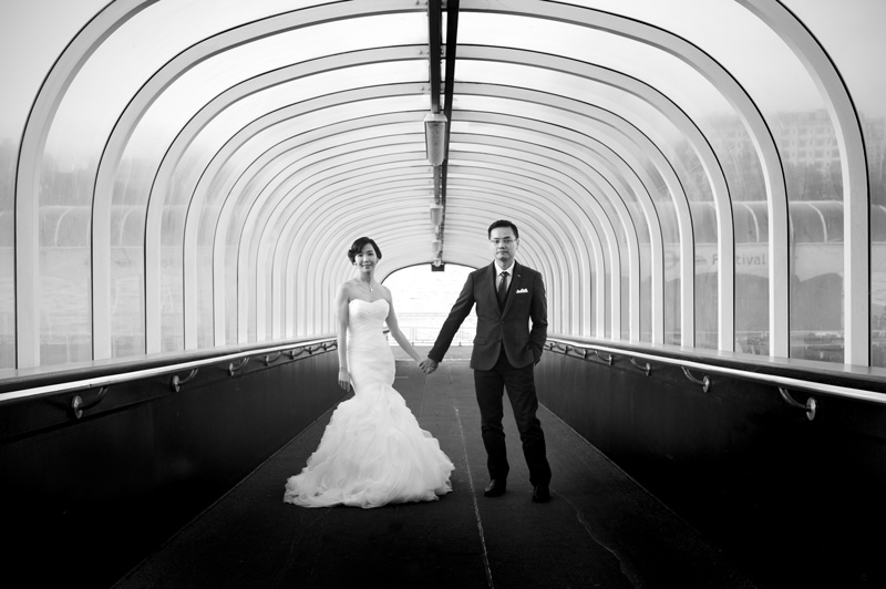 Central London pre-wedding shoot