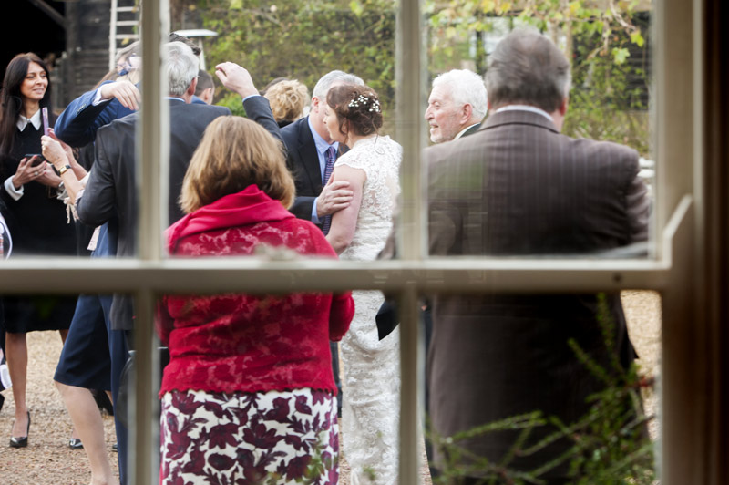South Farm wedding guests