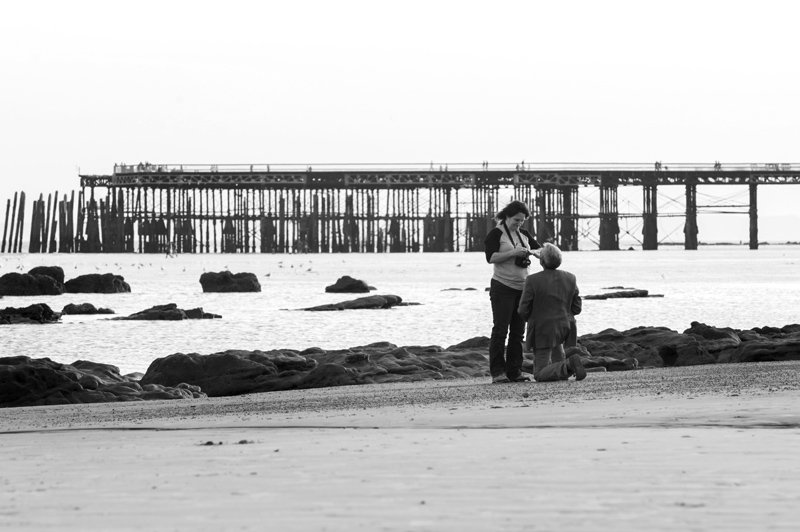 Marriage proposal photos on hastings beach-13bw
