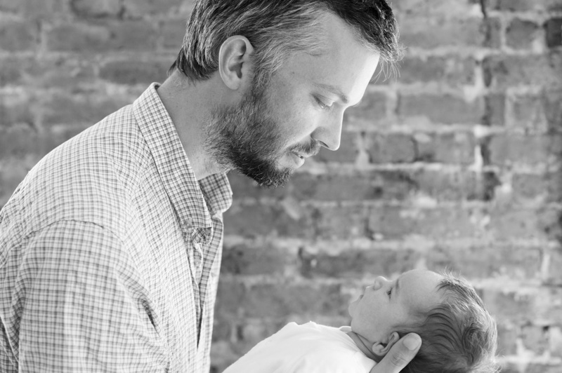 Father and child by Sussex family photographer James Robertshaw
