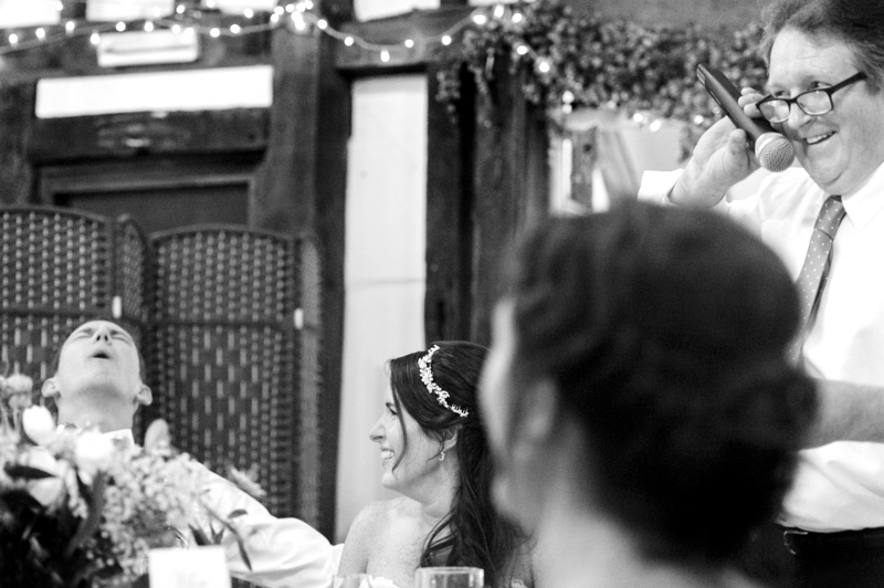 Plough at Leigh wedding - father of the bride speech