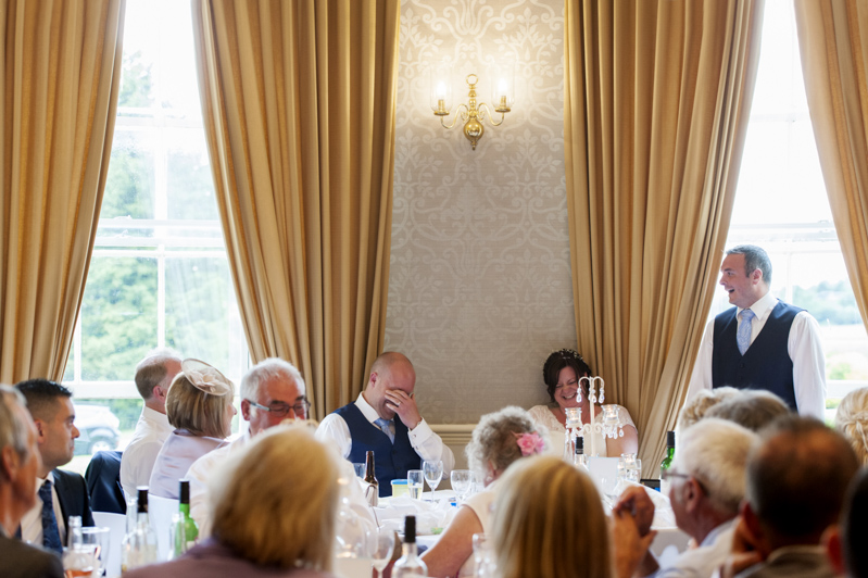 Crowhurst Park wedding - best man speech