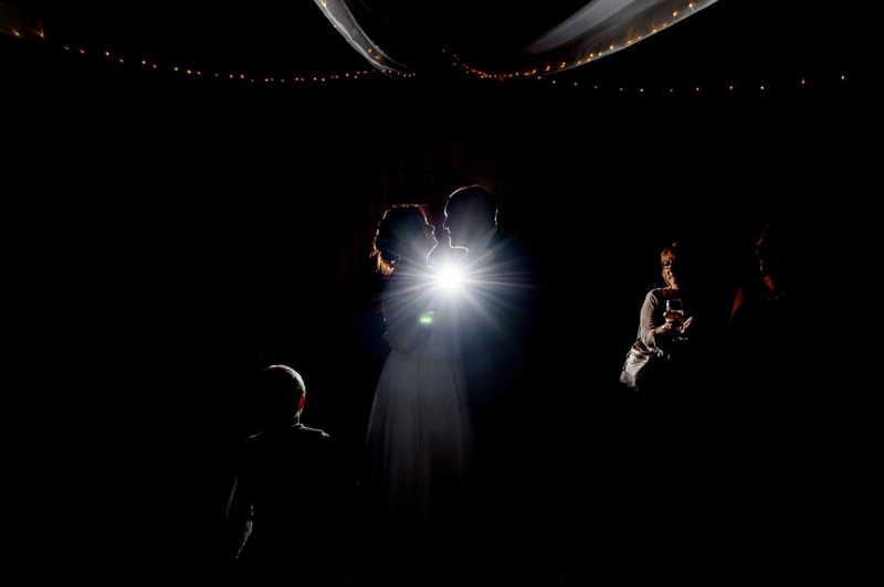 Crowhurst Park wedding - first dance