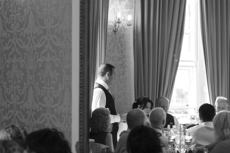 Crowhurst Park wedding best man speech