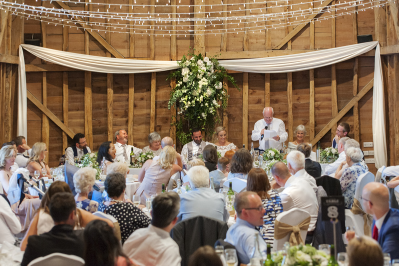 Father of the bride speech at Tewin Bury Farm