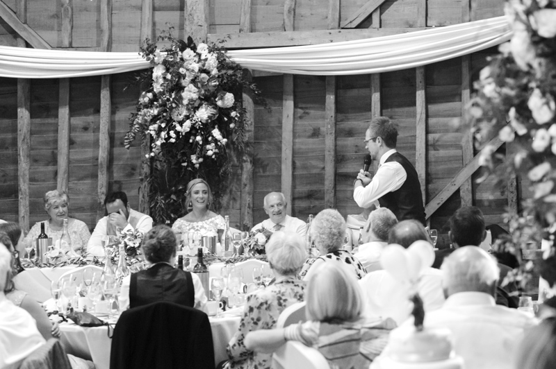 Best man speech at Tewin Bury Farm wedding