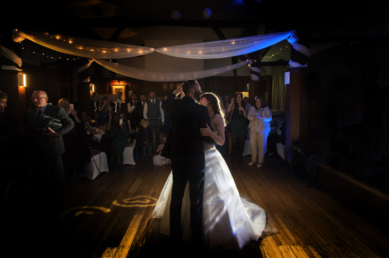 Manor Barn wedding - Couple first dance
