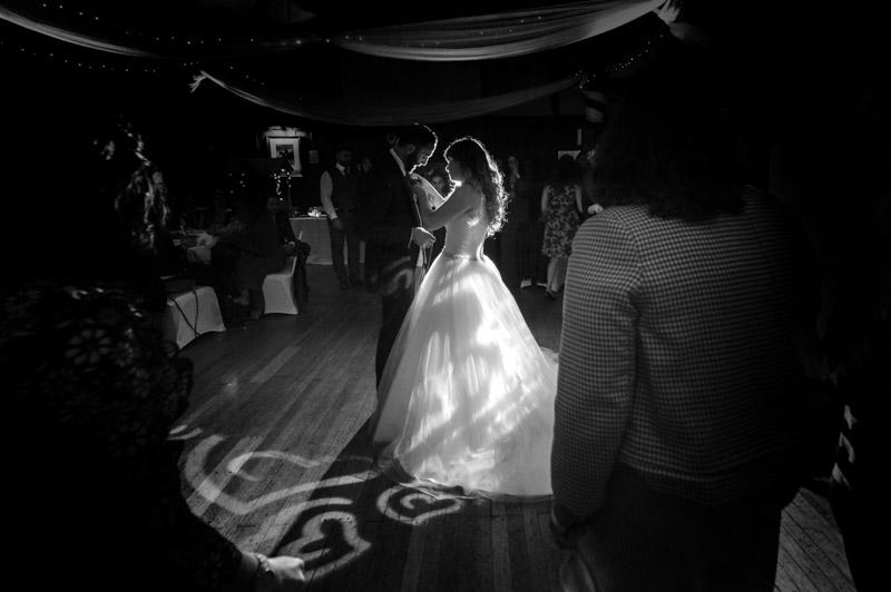 Manor Barn wedding - Couple first dance