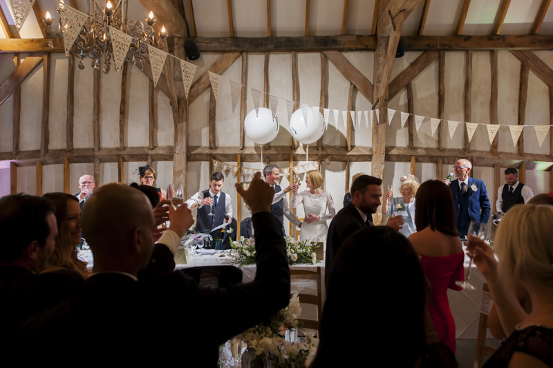 Southend Barns wedding speeches