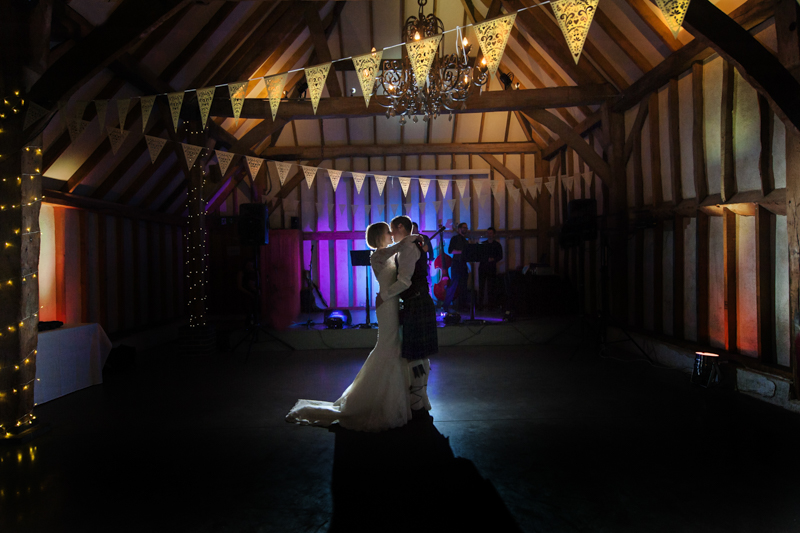 Southend Barns first dance