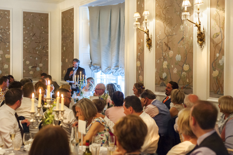 Speech at the George in Rye wedding