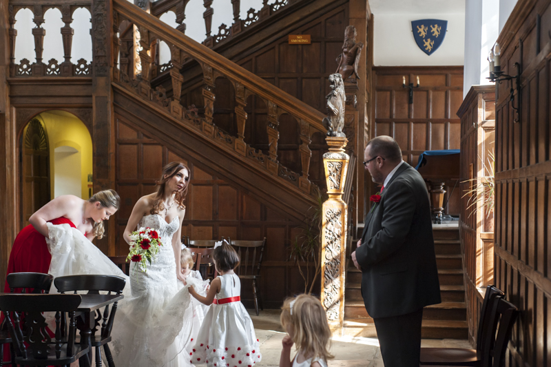 Herstmonceux castle wedding