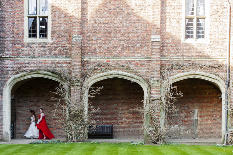 Herstmonceux castle summer wedding