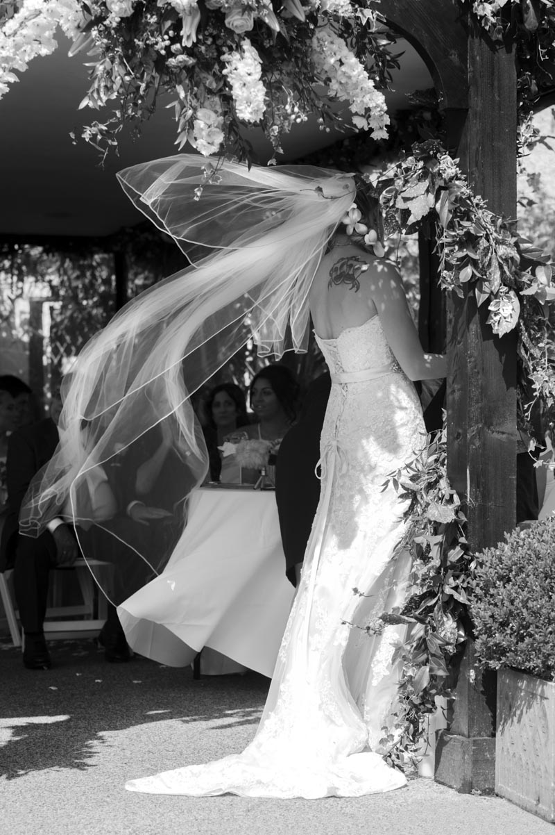 Bride at Hayne House wedding