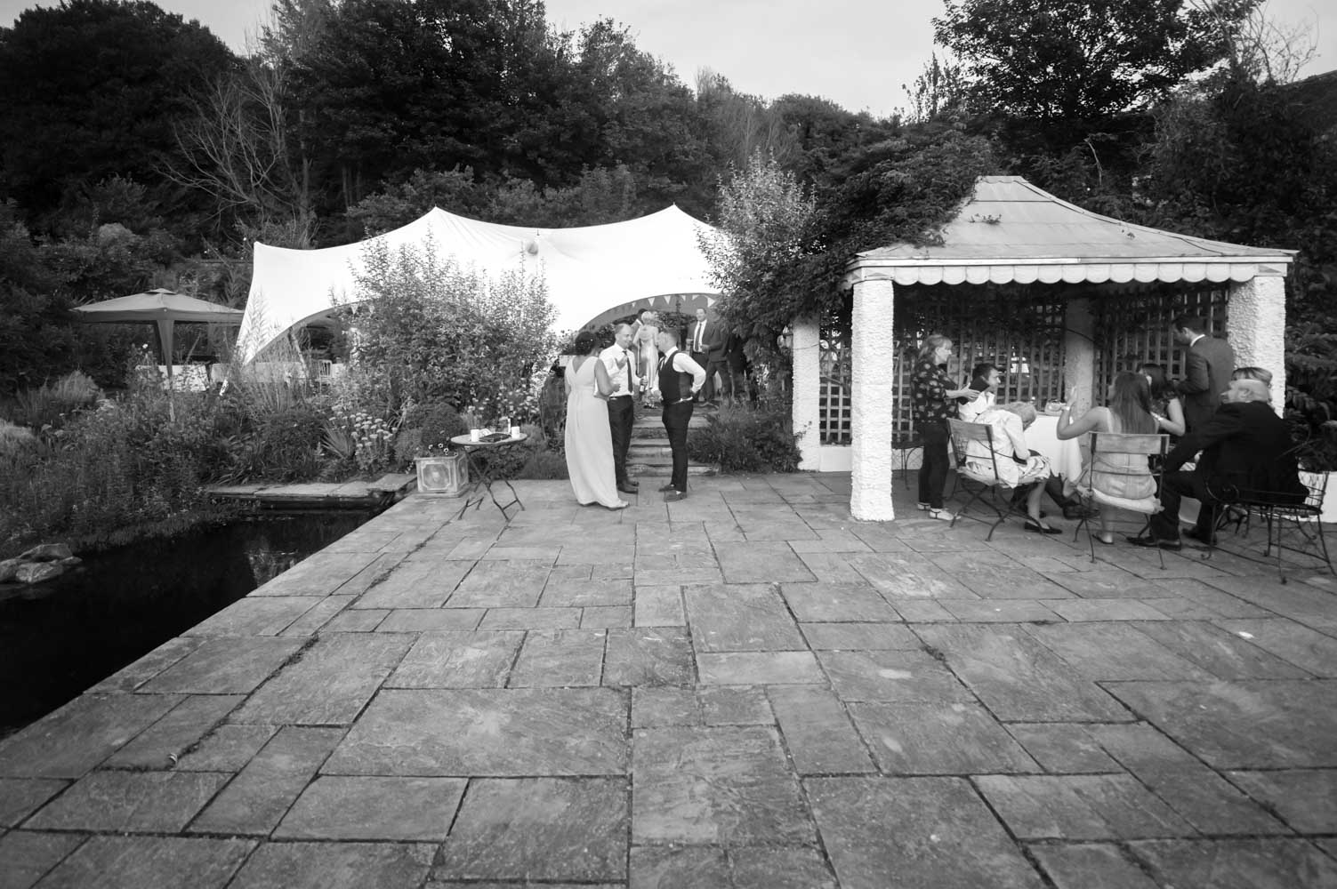 Lyndsey and Tom bw 174